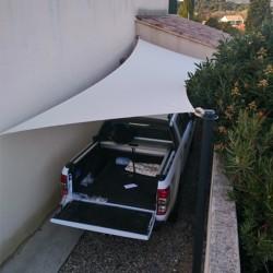 Voile d'ombrage Polygonale SOLTIS LOUNG 96 Serge Ferrari